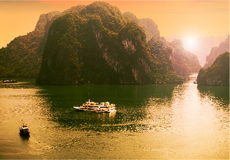 Halong Bay weather in summer